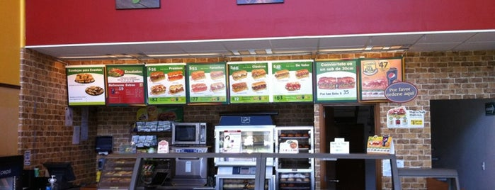 Subway is one of Sitios.