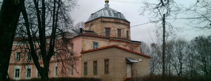 Усадьба Свиньиных-Козловских is one of Ancient manors of Russia.