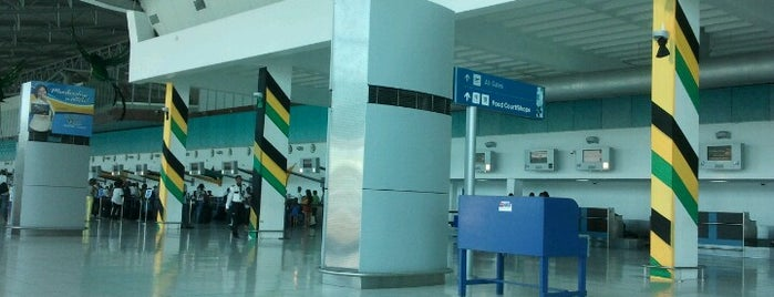 Norman Manley International Airport (KIN) is one of Foursquare City Int'l Airport.