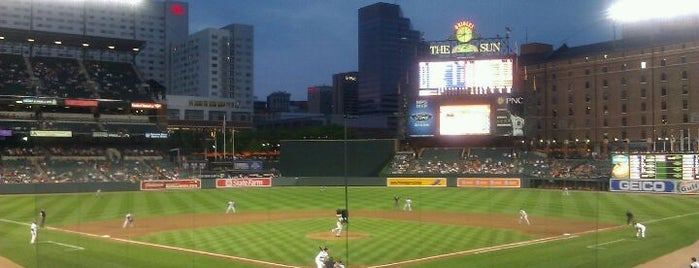 Oriole Park at Camden Yards is one of Places that are checked off my Bucket List!.