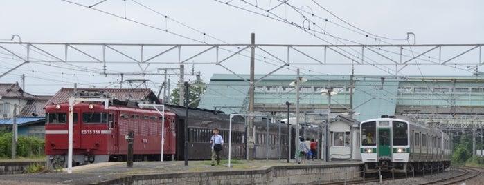 Matsukawa Station is one of JR 미나미토호쿠지방역 (JR 南東北地方の駅).