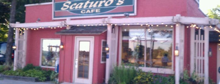 Scaturo's Baking Co. & Cafe is one of Sturgeon Bay.