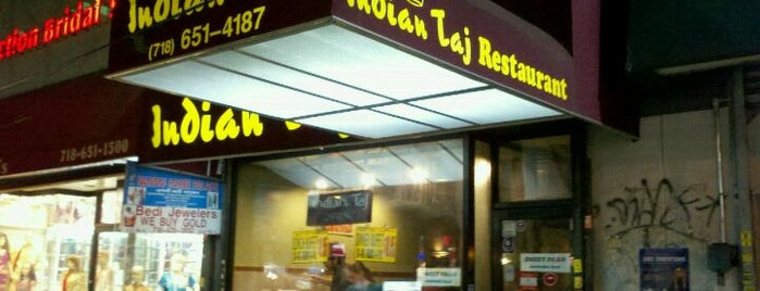 Indian Taj is one of To-Try: Queens Restaurants.