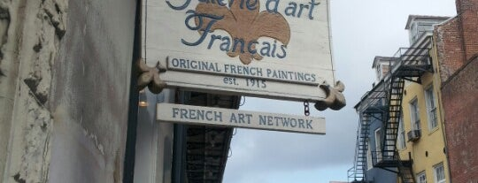 Galerie d'art Francais is one of SB '13.