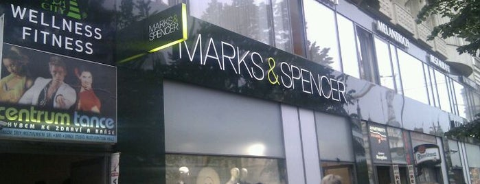 Marks & Spencer is one of Where to buy good food in Prague.