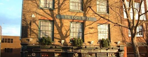 The Eight Bells is one of Fulham FC History.