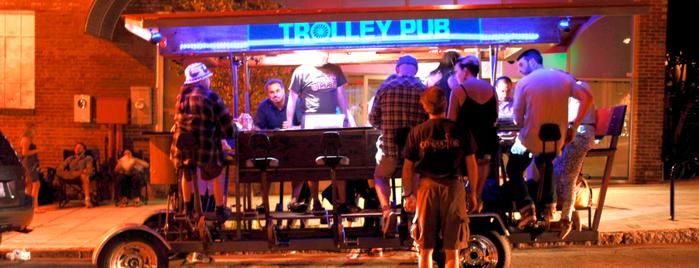 Trolley Pub is one of USA - NC.