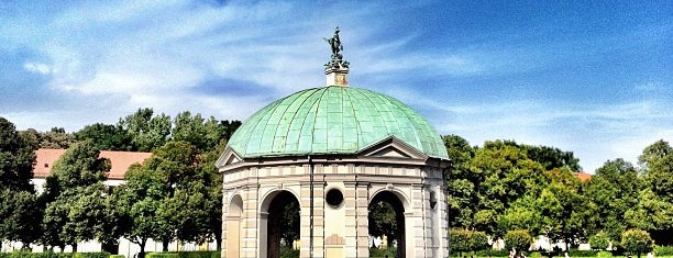 Hofgarten is one of Munich.