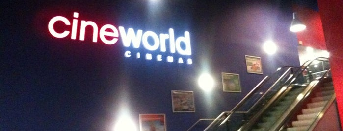 Cineworld is one of Tempat yang Disukai Carl.