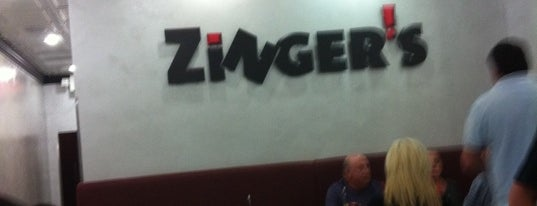 Zinger's Deli is one of Boca faves.