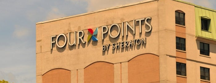 Four Points by Sheraton Hotel & Suites is one of Attention Era Media was here.