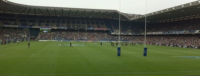 Murrayfield Stadium is one of Must visit Edinburgh Attractions.