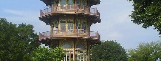 Patterson Park Pagoda is one of Charms of Baltimore #visitUS #4sq.
