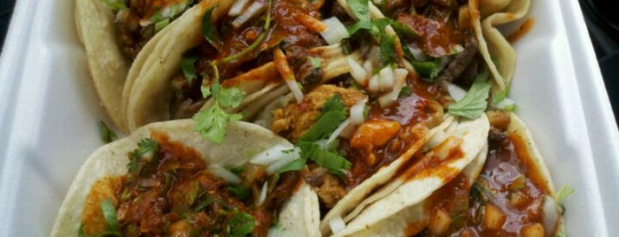 El Grullense Taco Truck is one of Eater's Mexican Food in the Central Valley.