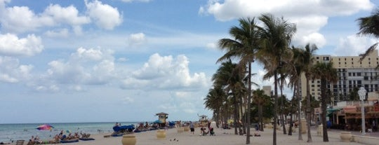 Hollywood Beach Garfield Park is one of SoFlo spots.