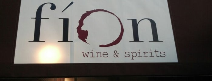 Fion Wine and Spirits is one of Chicago!.