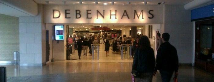 Debenhams is one of Romi : понравившиеся места.