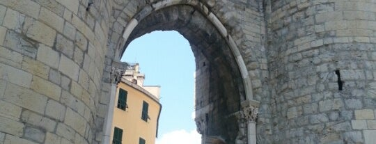 Porta Soprana is one of Genua.