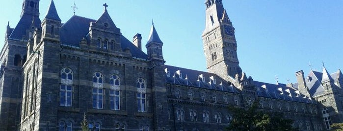 Healy Hall is one of Georgetown Campus Tour.