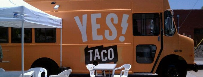 YES! Taco at SiNaCa Studios is one of Fort Worth Bites.