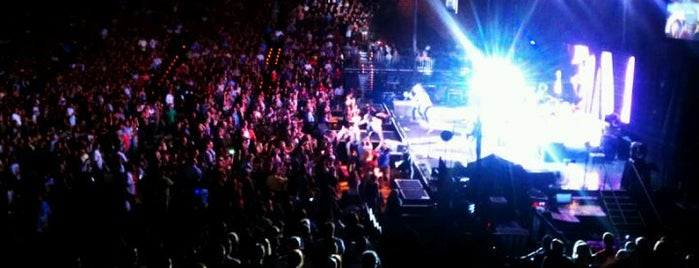 Frank Erwin Center (ERC) is one of Best Live Music Venues.