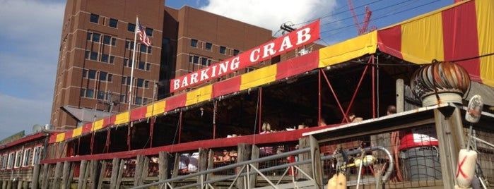 The Barking Crab is one of Beantown.