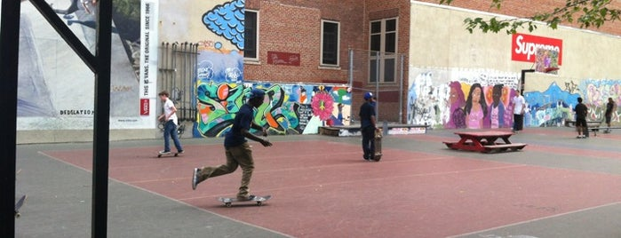 12th and A Skate Park is one of NYC to-do list.