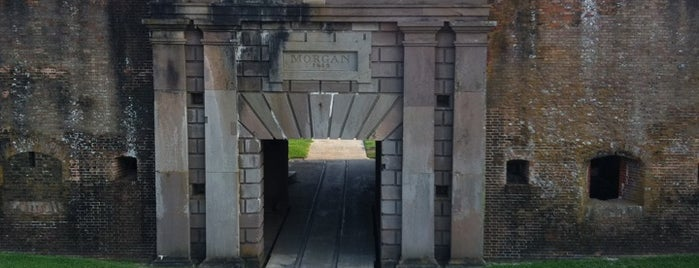 Fort Morgan State Historic Site is one of Paranormal Places Across United States.
