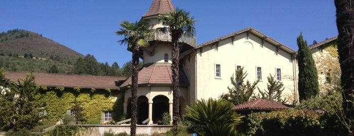 Chateau St Jean Winery is one of California Wine Country.