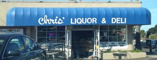 Chris' Liquor and Deli is one of Locais curtidos por Veronica.