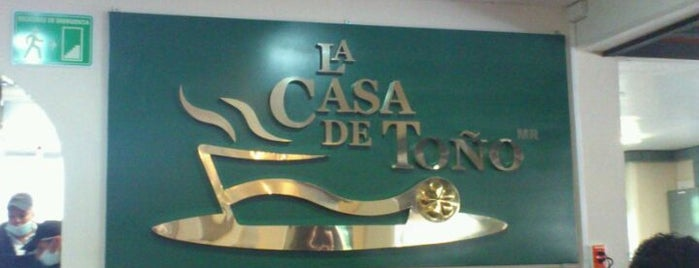 La Casa de Toño is one of Locais curtidos por Sally.