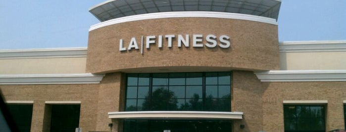 LA Fitness is one of #FitBy4sqDay Tips.