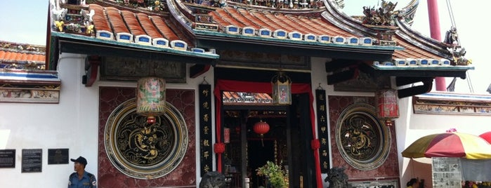 Cheng Hoon Teng Temple (青雲亭) is one of Melaka.
