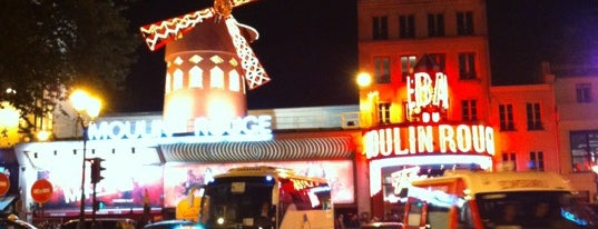 Moulin Rouge is one of My favorite places in Paris, France.