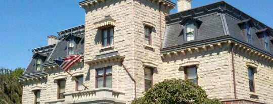 Chateau Sur-Mer is one of Newport favorites.