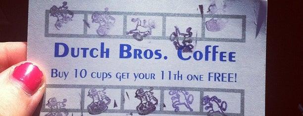 Dutch Bros Coffee is one of Portland's best.