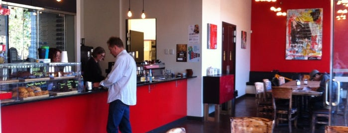 Rosso Coffee Roasters is one of Calgary.