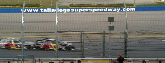 Talladega Superspeedway is one of My NASCAR.