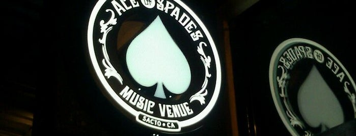 Ace of Spades is one of Places to Perform..