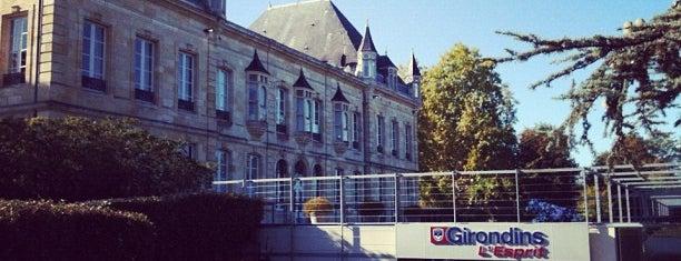 Château du Haillan - FC Girondins De Bordeaux is one of Posti che sono piaciuti a Banu.