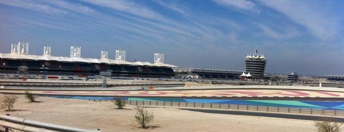 Bahrain International Circuit is one of Formula 1 Tracks.