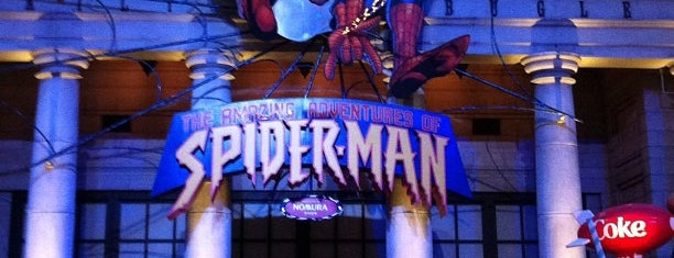 The Amazing Adventures of Spider-Man - The Ride 4K3D is one of JAPAN OSAKA.