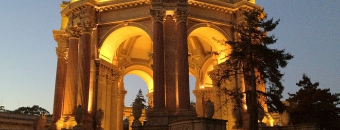 Palace of Fine Arts is one of Great City By The Bay - San Francisco, CA #visitUS.