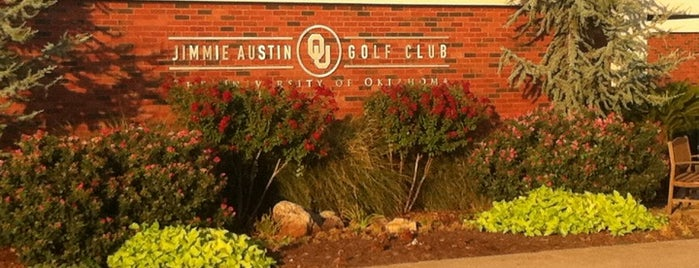 Jimmie Austin OU Golf Club is one of Play Like a Champion.