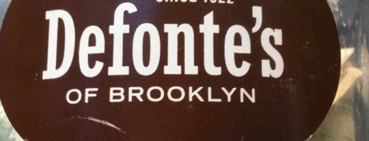 Defonte's of Brooklyn is one of The 51 Madison Avenue Hit List.