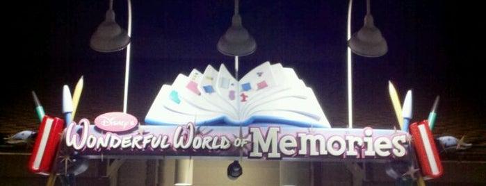 Disney's Wonderful World Of Memories is one of Disney Springs.