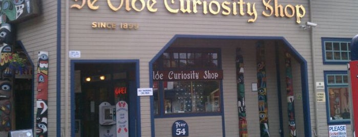 Ye Olde Curiosity Shop is one of Places I've been.