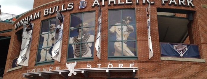 Durham Bulls Athletic Park is one of Tampa Bay Rays Minor League Parks.
