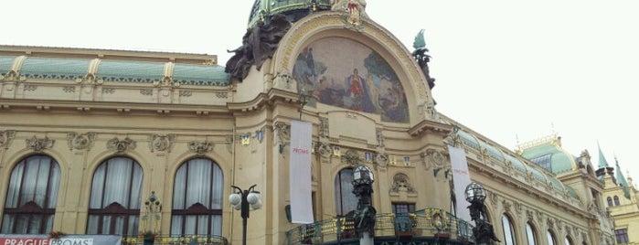 Obecní dům is one of StorefrontSticker #4sqCities: Prague.