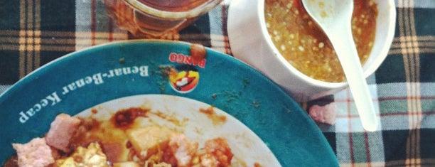 Kupat Tahu Gempol is one of Bandung's Legendary Eateries.